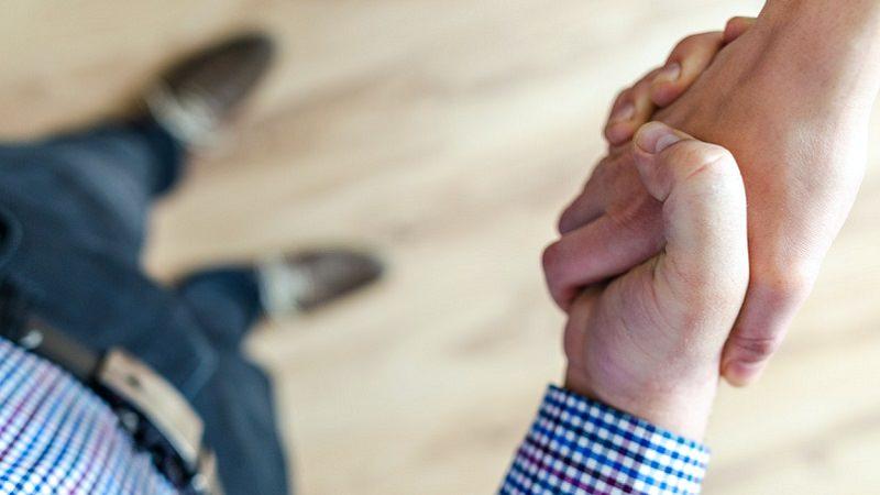 Handschlag, Handshake, Vertrag, Vereinbarung, Vertragsabschluss