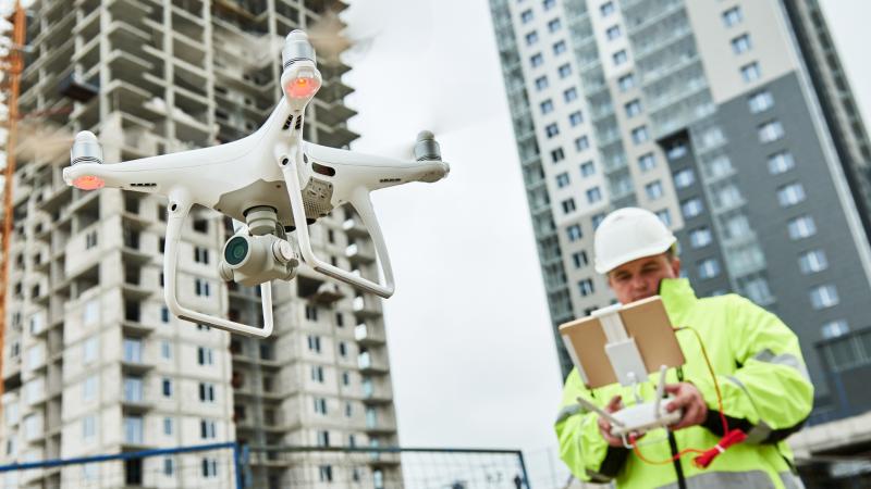 Remote Maintenance mit Drohnen von Softeq