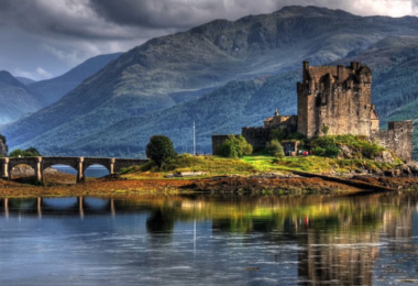 Schottland, Schloss, Natur, Landschaft, Highlands, Outlander