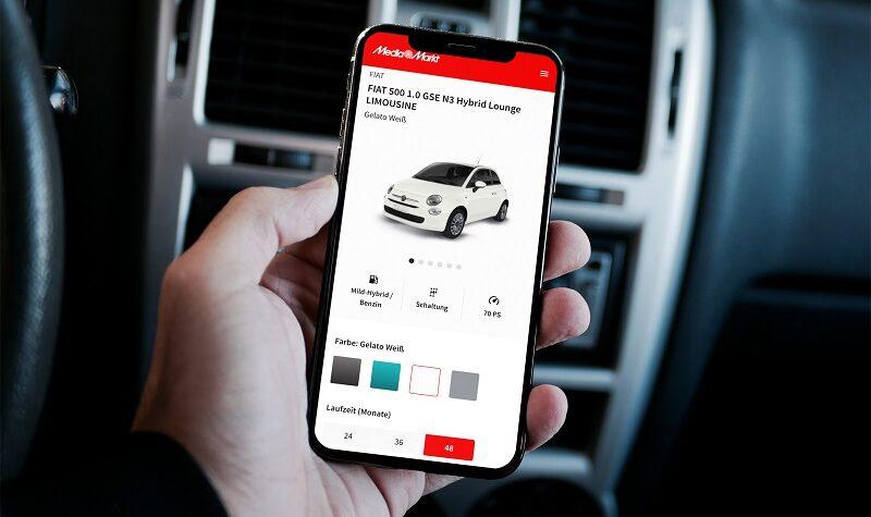 Fiat 500 Hybrid Lounge, Media Markt, Leasing, Auto