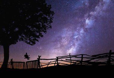 Nacht, Sterne, Sternenhimmel, Milchstraße, Weltraum, Weltall