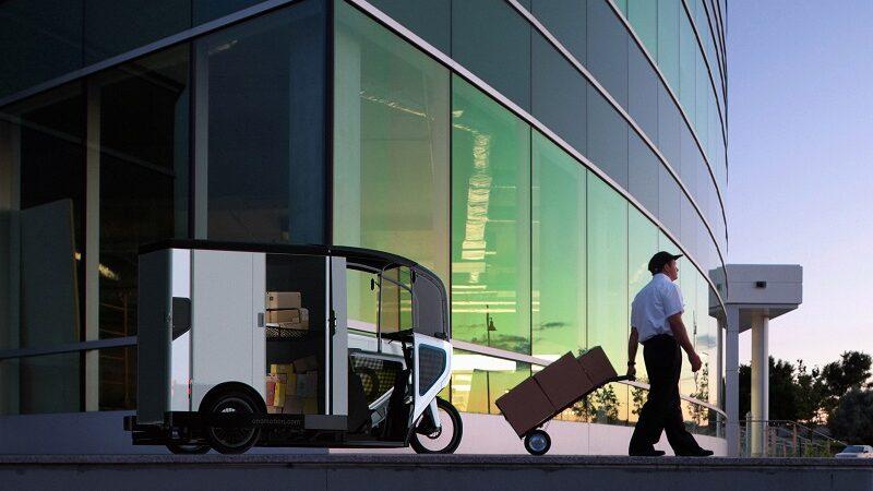 Ono Motion, Lastenrad, E-Bike, Paketlieferung, Start-up