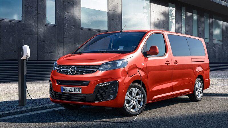 Opel Zafira e Life, Van, Elektroautos