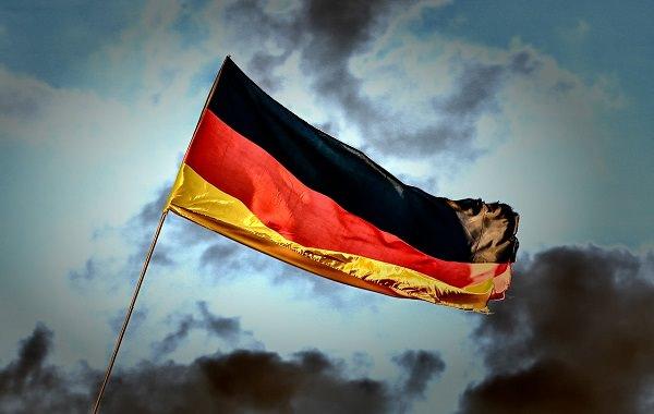 Deutschland, Deutschland-Flagge, Deutschland-Fahne, Reichstag