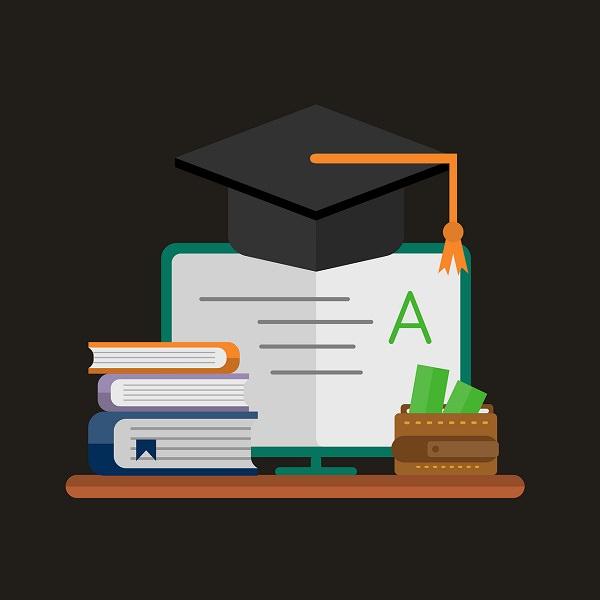 Bildung, Ausbildung, Bücher, Hut, Robe, Absage