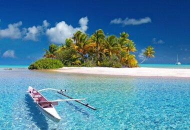Polynesien, Urlaub, Insel, Sandstrand, Paradies, Weltreise, Karibik