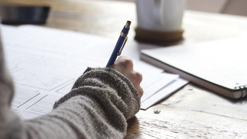 Schreiben, Schreibtisch, Arbeit, Zukunft der Arbeit