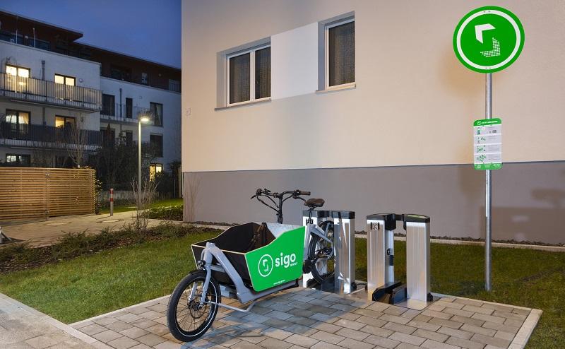 Sigo Darmstadt, Lastenrad, E-Bike