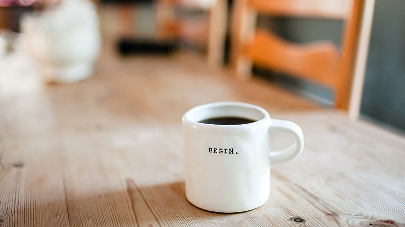 Begin, Beginn, Anfang, Start, Gründung, Start-up, Kaffee, Unternehmen gründen, Firma gründen