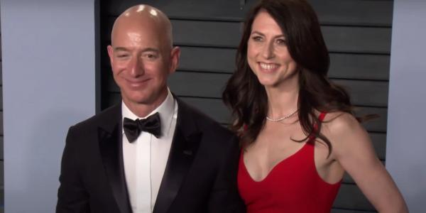 MacKenzie Bezos, Jeff Bezos