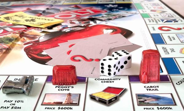 Monopoly, Brettspiel, beliebteste Hobbys
