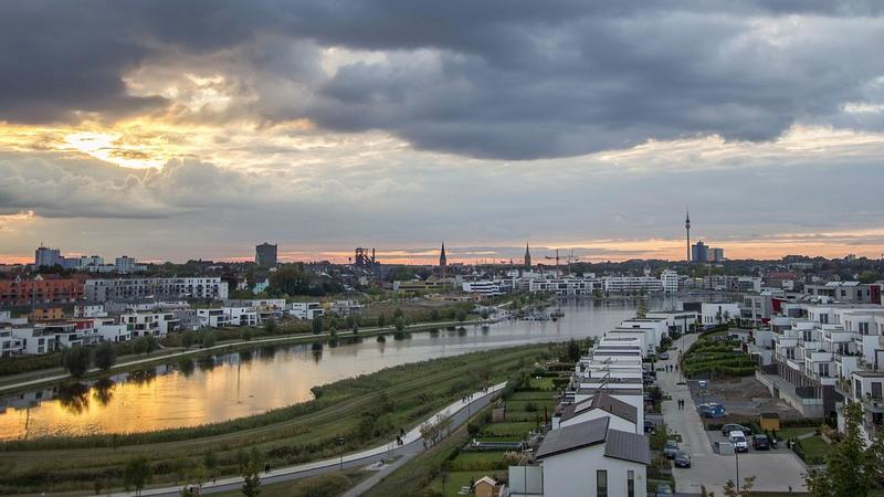 Dortmund, Phoenixsee, Ruhrgebiet