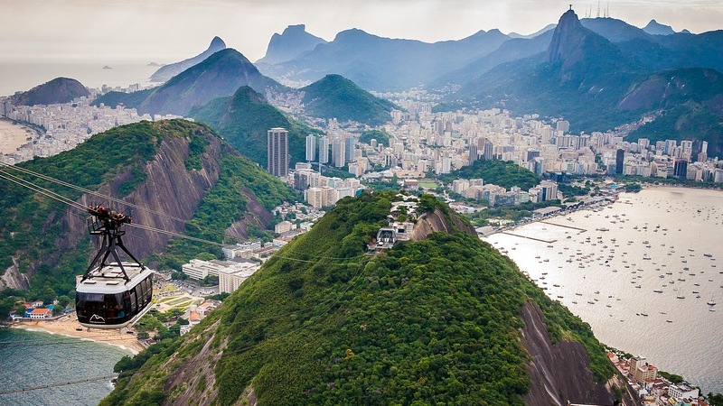 Corcovado-Berg, Rio de Janeiro