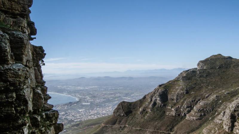 Tafelberg, Kapstadt, Südafrika, wandern