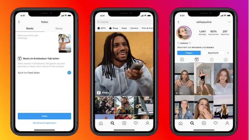 Instagram, Instagram-Reels, Reels, Instagram vs. Tik Tok