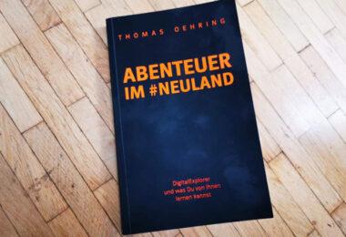 Thomas Oehring, Start-up, Buch, Rezension, Abenteuer im Neuland,