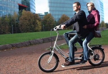 Cuddlebike, Fahrrad, Tandem