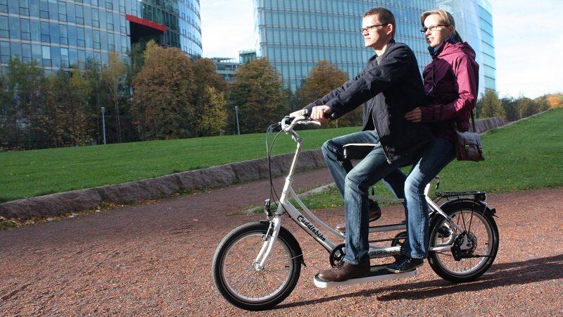 Cuddlebike, Fahrrad, Tandem