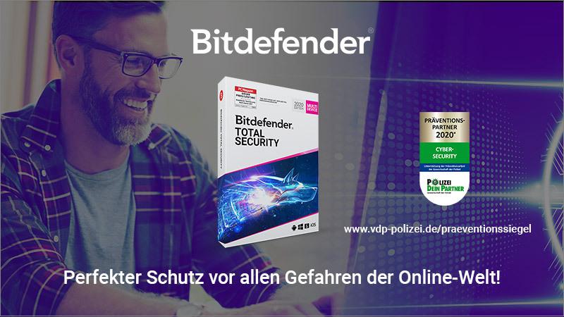Bitdefender Total Security Schutz Internet