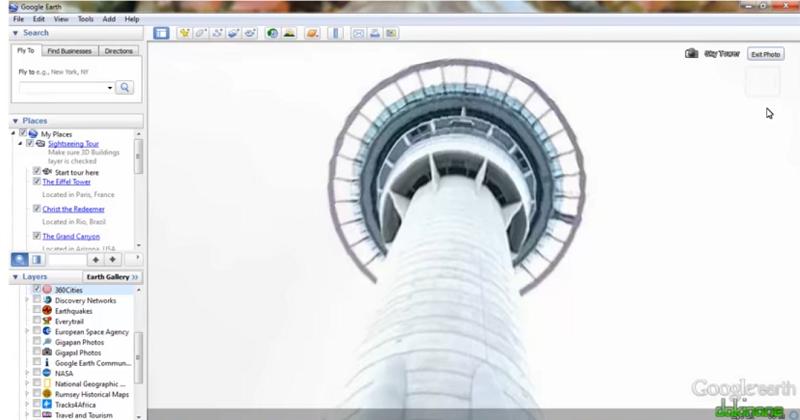 Google Earth Layers