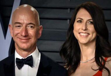 Jeff Bezos, MacKenzie Bezos, Amazon, Internet-Milliardäre