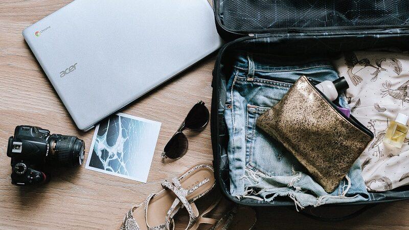 Koffer, packen, Urlaub, Ferien