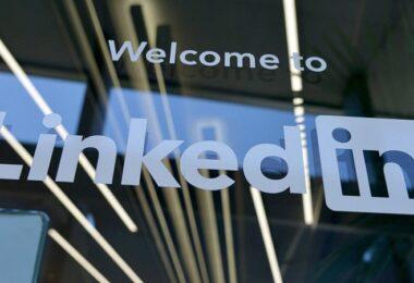 LinkedIn, Linkedin, LinkedIn-Logo, Zwischenspeicher