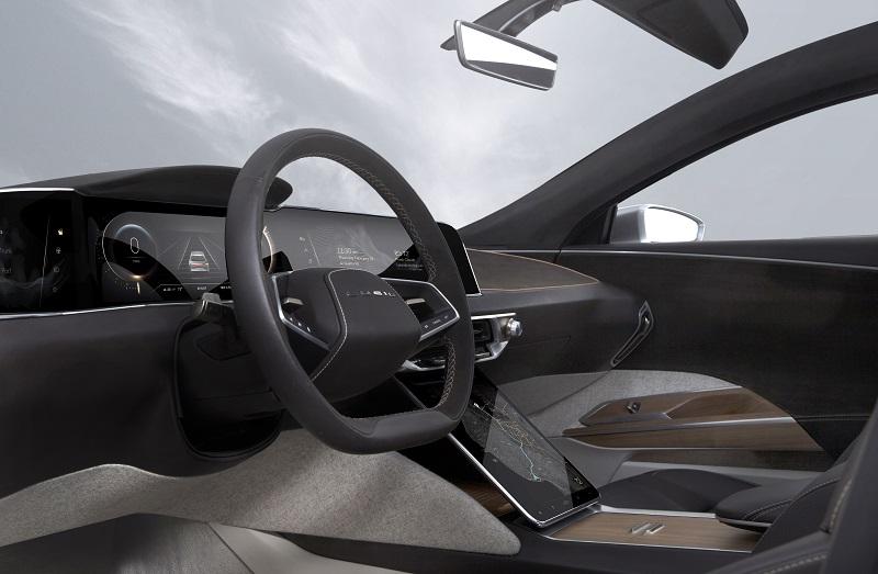 Lucid Air, Armaturenbrett, autonomes Fahren