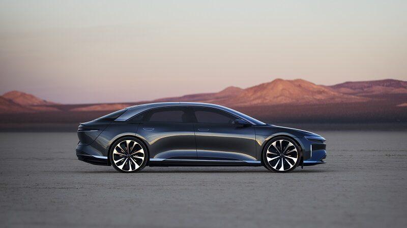 Lucid Air, Elektroauto, Auto, Limousine
