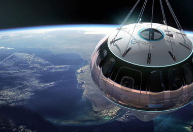 Space Perspective, Planet, Erde, Globus, Raumfahrt