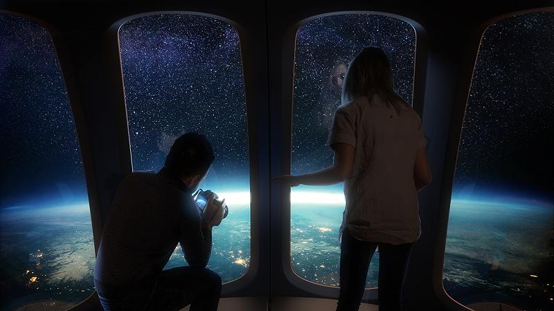 Space Perspective, Raumfahrt, Weltraum