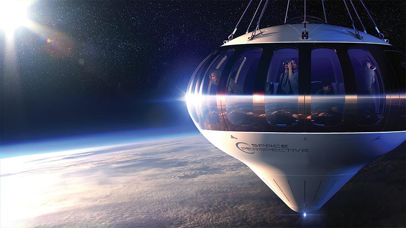 Space Perspective, Ballon, Raumfahrt, Weltraum, Weltall, Erde, Planet