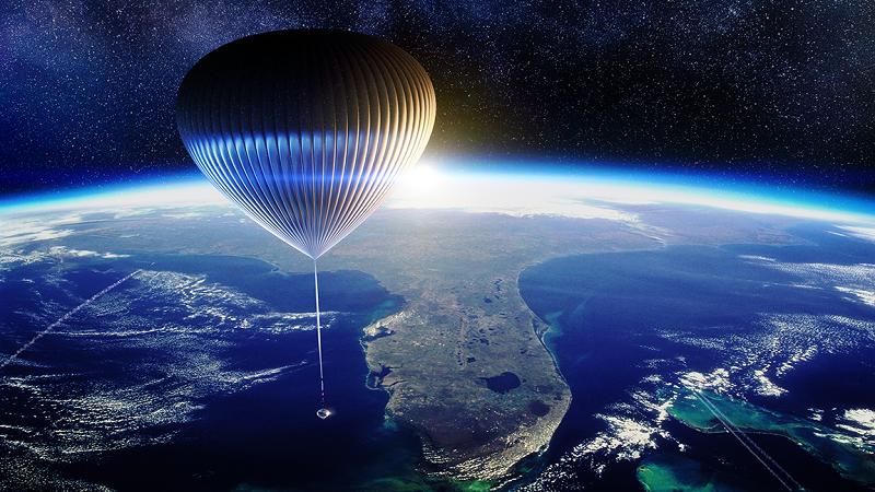 Space Persspective, Ballon, Wasserstoff, Weltraum, Raumfahrt