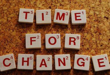 Wandel, Change, Veränderung, schwache Verben
