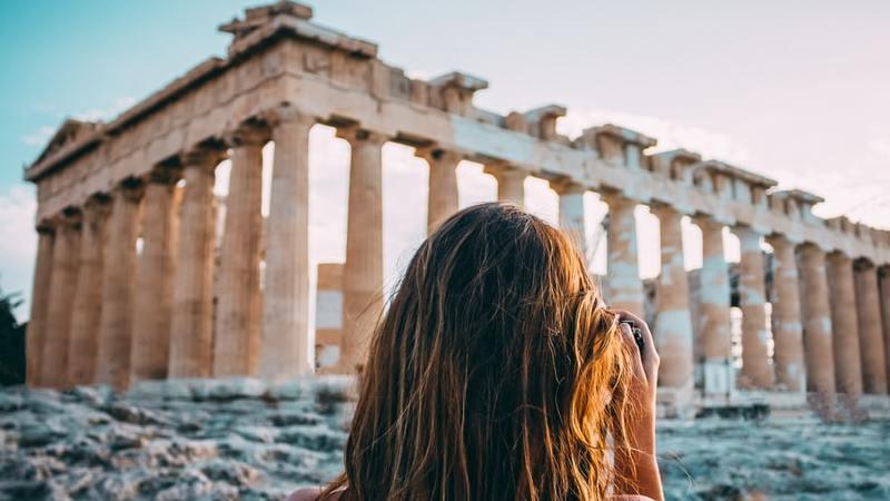 Athen, Frau