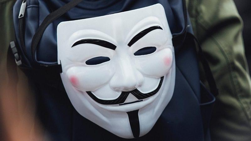 Guy Fawkes Mask, Guy Fawkes Maske, Gesichtserkennung
