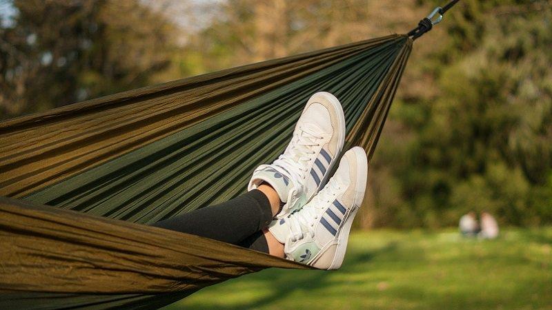 Hängematte, Entspannen, ausruhen, ineffizient, unproduktiv, Gewinnmaximierung