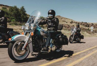 Harley Davidson Softail Classic, Motorrad, Lärm