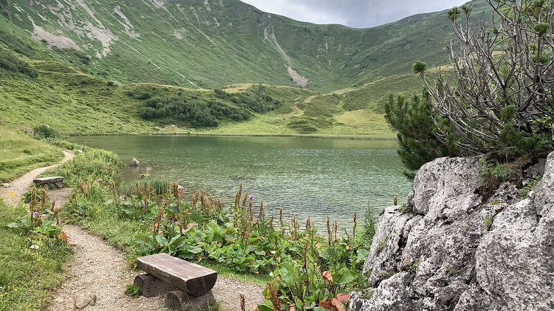 Fellhorn, Allgäu Berge, See, Natur, Landschaft