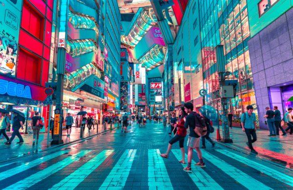 Tokio, Menschen