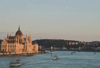 Budapest, Wahrzeichen, Fluss