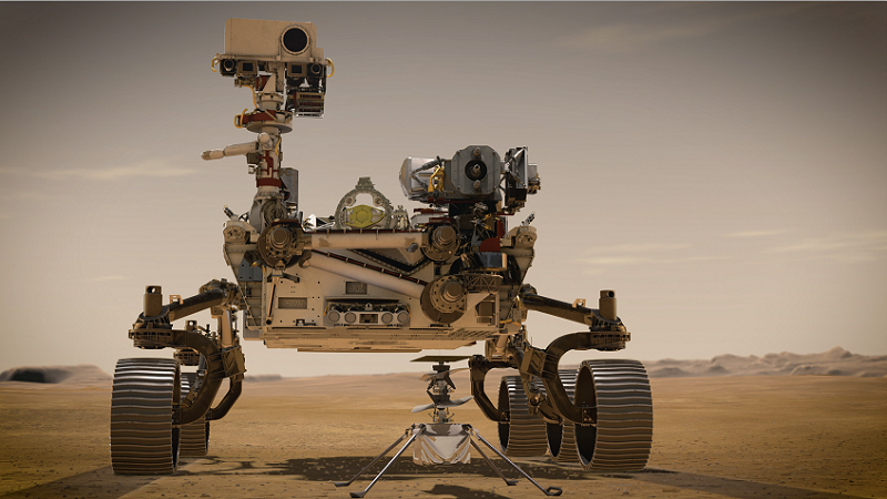 Perseverence Mars Rover, Nasa, Raumfahrt