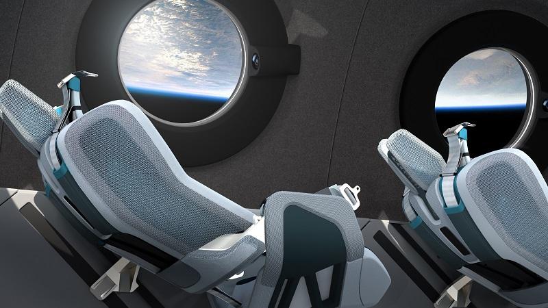 Virgin Galactic, Sitze, Raumfahrt, Design