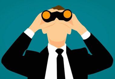 Überwachung, Observer, staatliche Überwachung, Fernglas