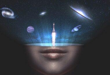 Universum, Weltall, Sphären, Rakete, Raketenstart, Aufbruch, Start-up-Nation