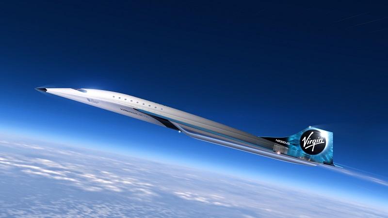 Virgin Galactic Überschallflugzeug, Flugzeug, Mach 3