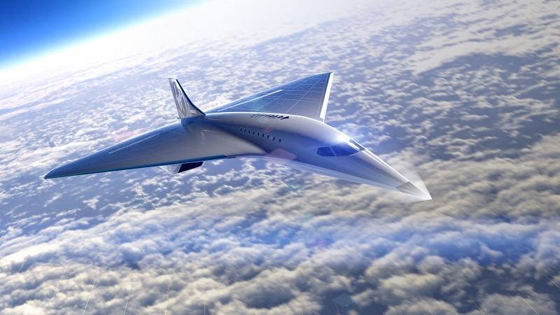 Überschallflugzeug, Virgin Galactic, Flugzeug