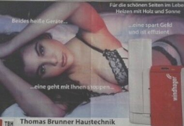 Werberat, Werbung, Plakat, Sexismus
