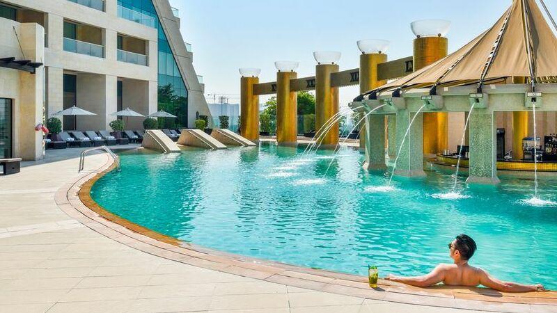 Raffles Dubai, Dubai, Vereinigte Arabische Emirate.