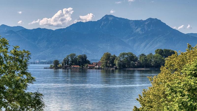 Chiemsee, Bayern, See, Badesee
